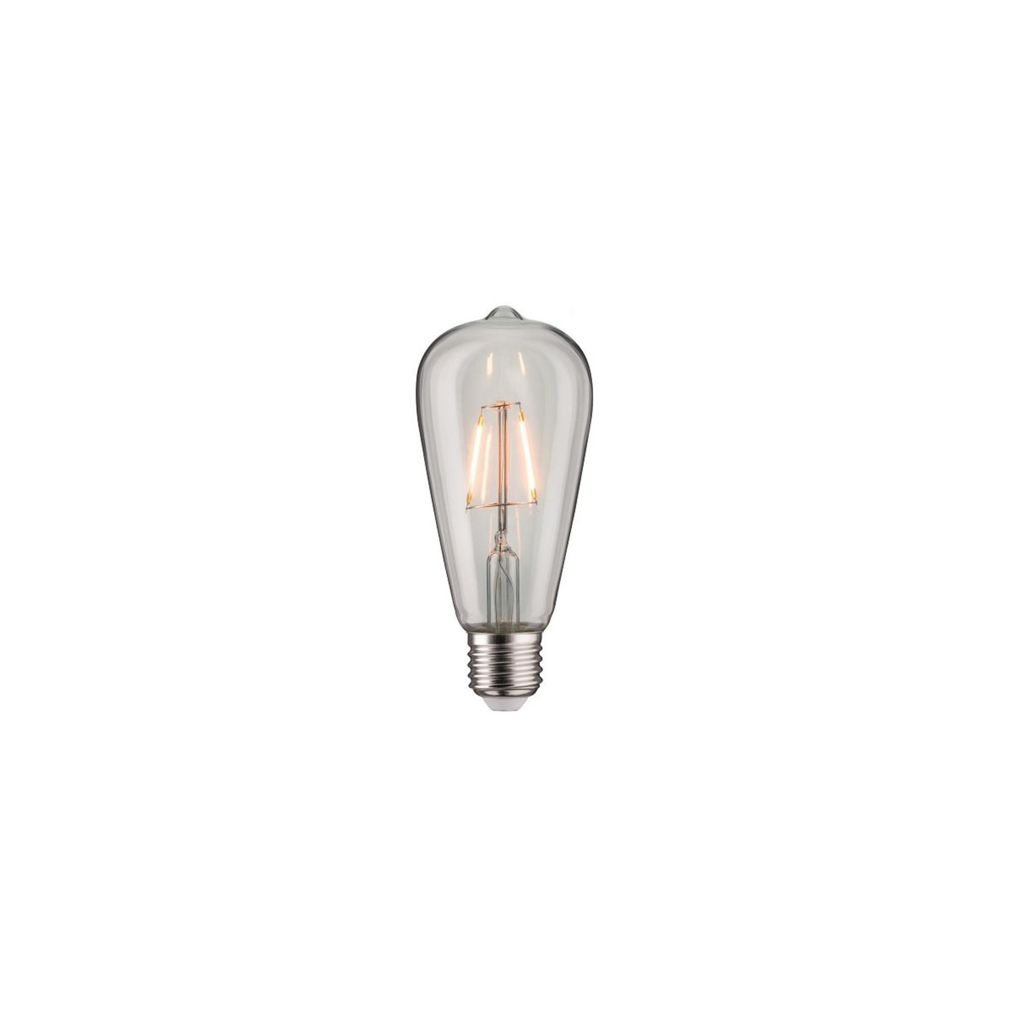 Лампа филаментная Paulmann Vintage ST64 2.5Вт 180лм 1800К E27 230В Прозрачный 28404.