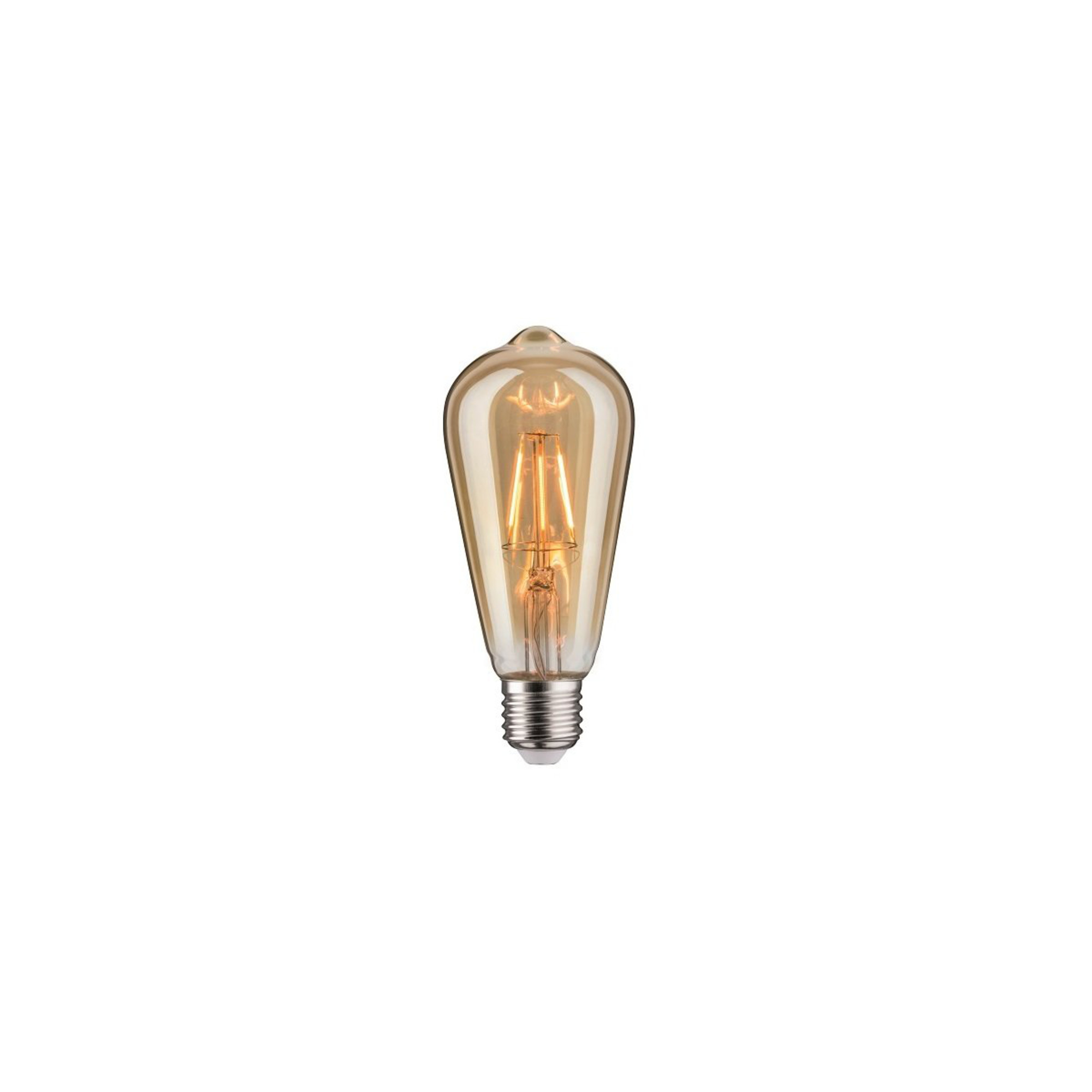 Лампа филаментная Paulmann Vintage ST64 4Вт 250лм 1700К E27 230В Золото 28407.
