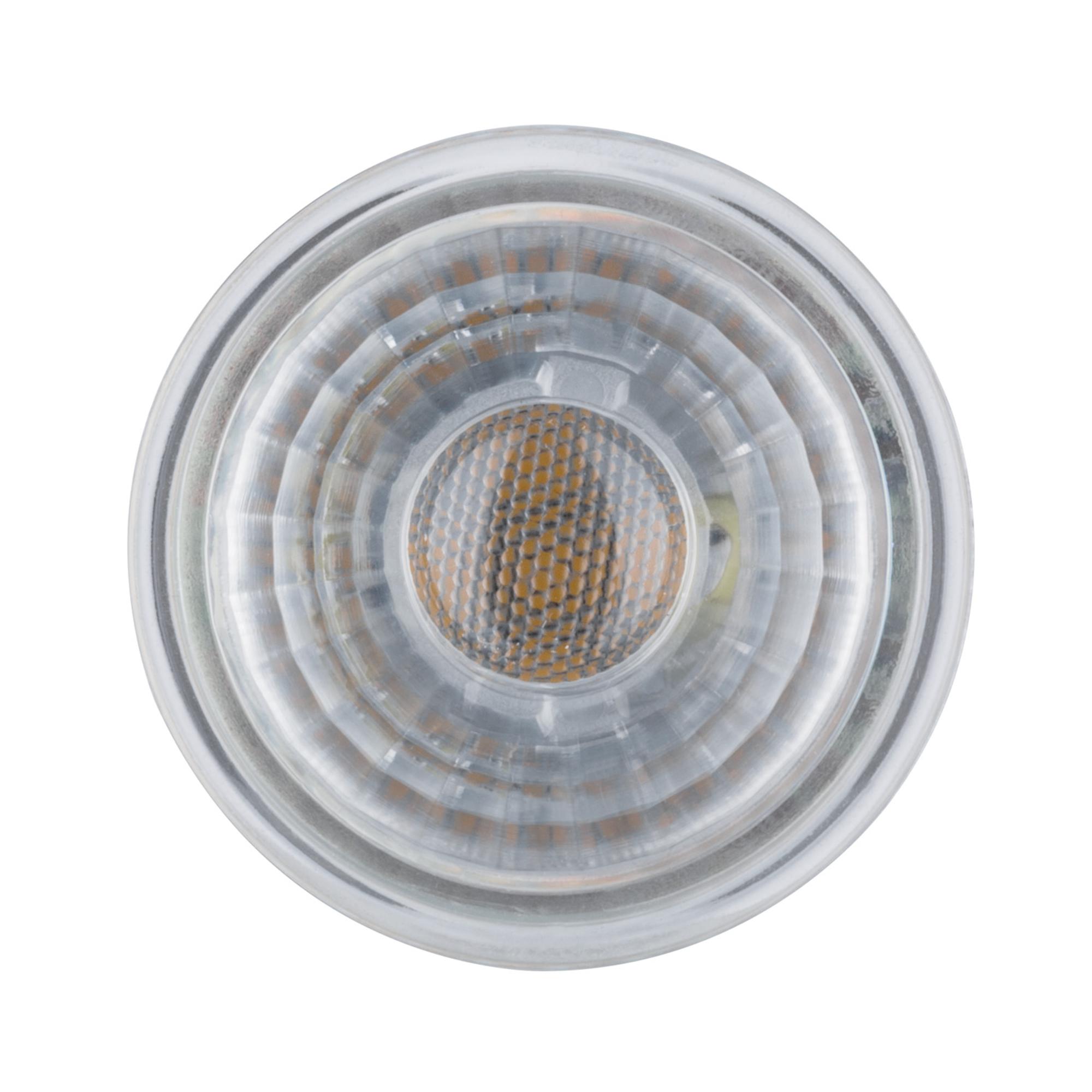 Лампа светодиодная Paulmann Рефлекторная 3.2Вт 230лм GU10 2700K 230В Серебро 28409.