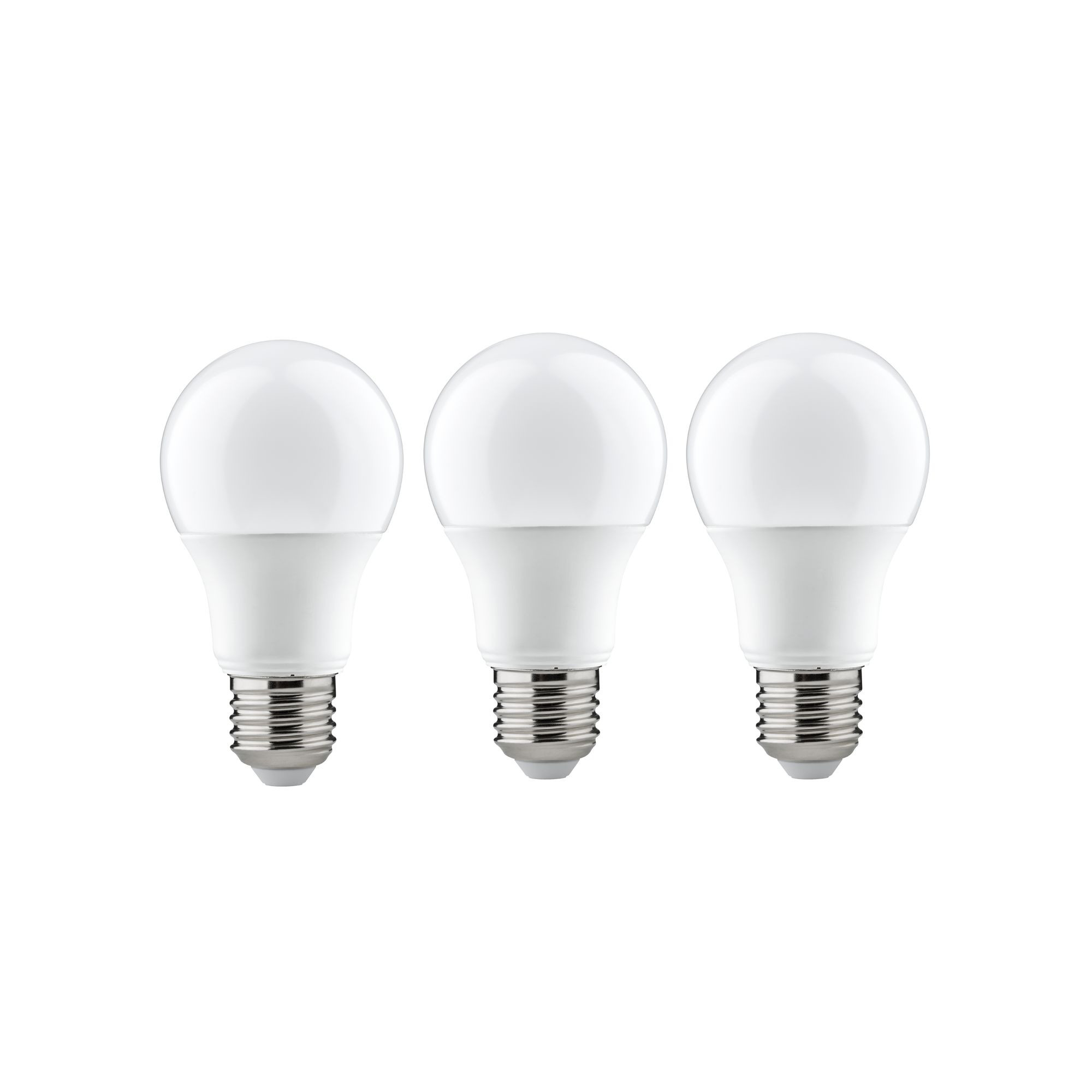 Лампа светодиодная Paulmann Общего назначения 6.5Вт 470лм 2700К E27 230В Опал Набор 3шт. 28428.