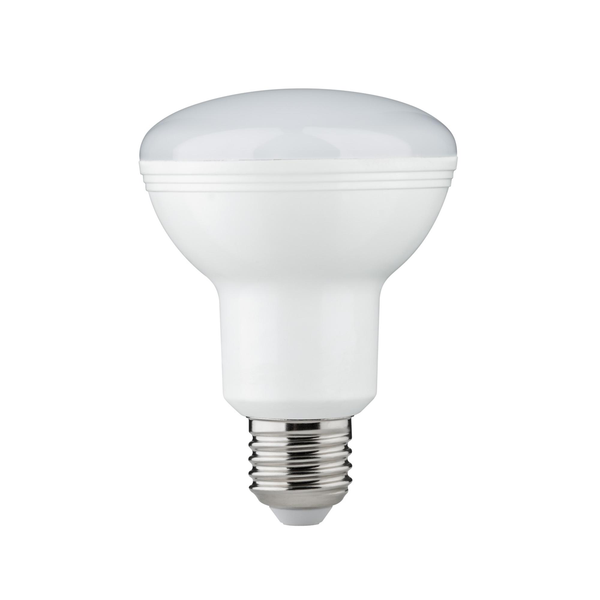 Лампа светодиодная Paulmann Рефлекторная R80 10Вт 806лм 2700К Е27 230В Опал 28444.