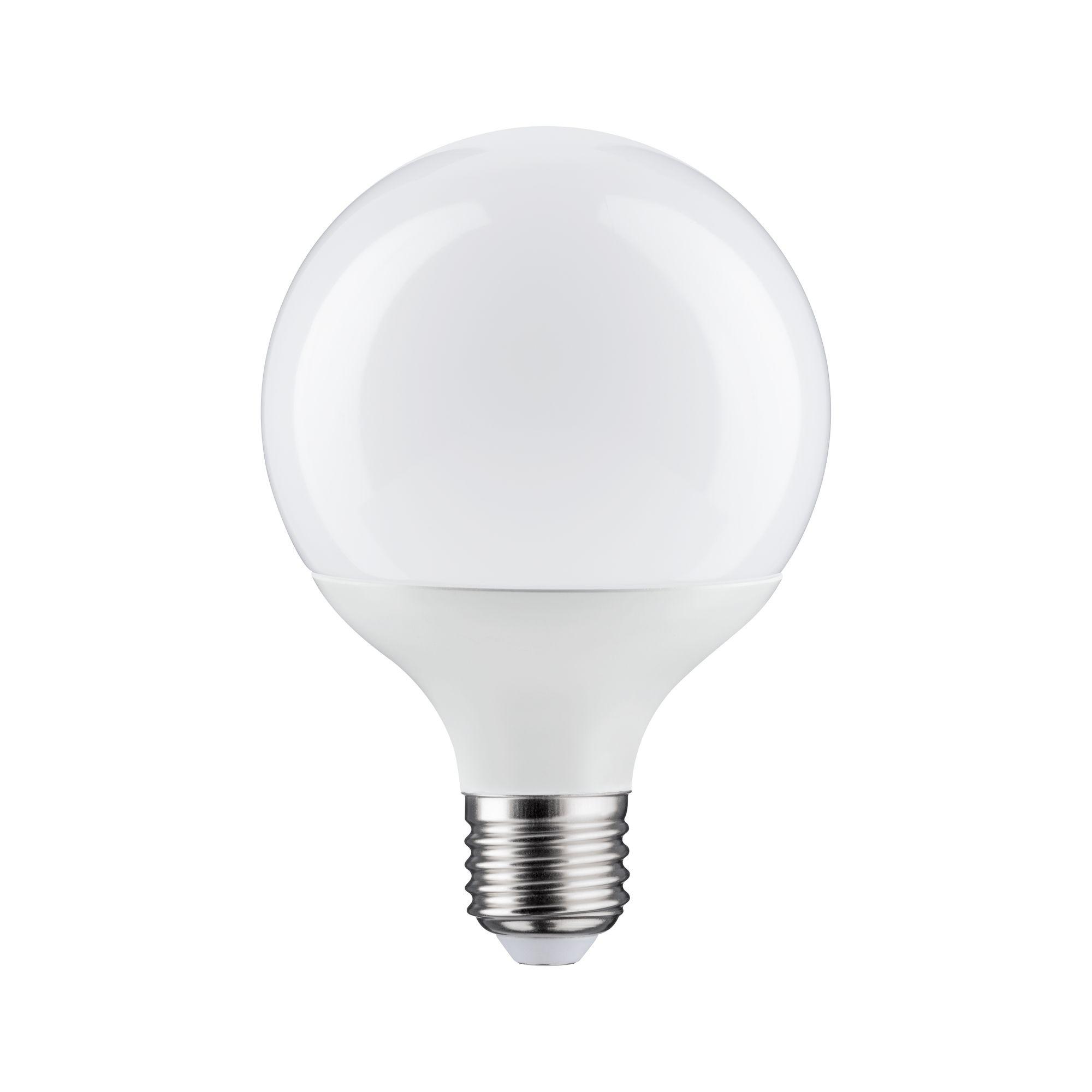 Лампа светодиодная Paulmann Шар G95 10Вт 1055лм 2700К Е27 230В Опал 28447.