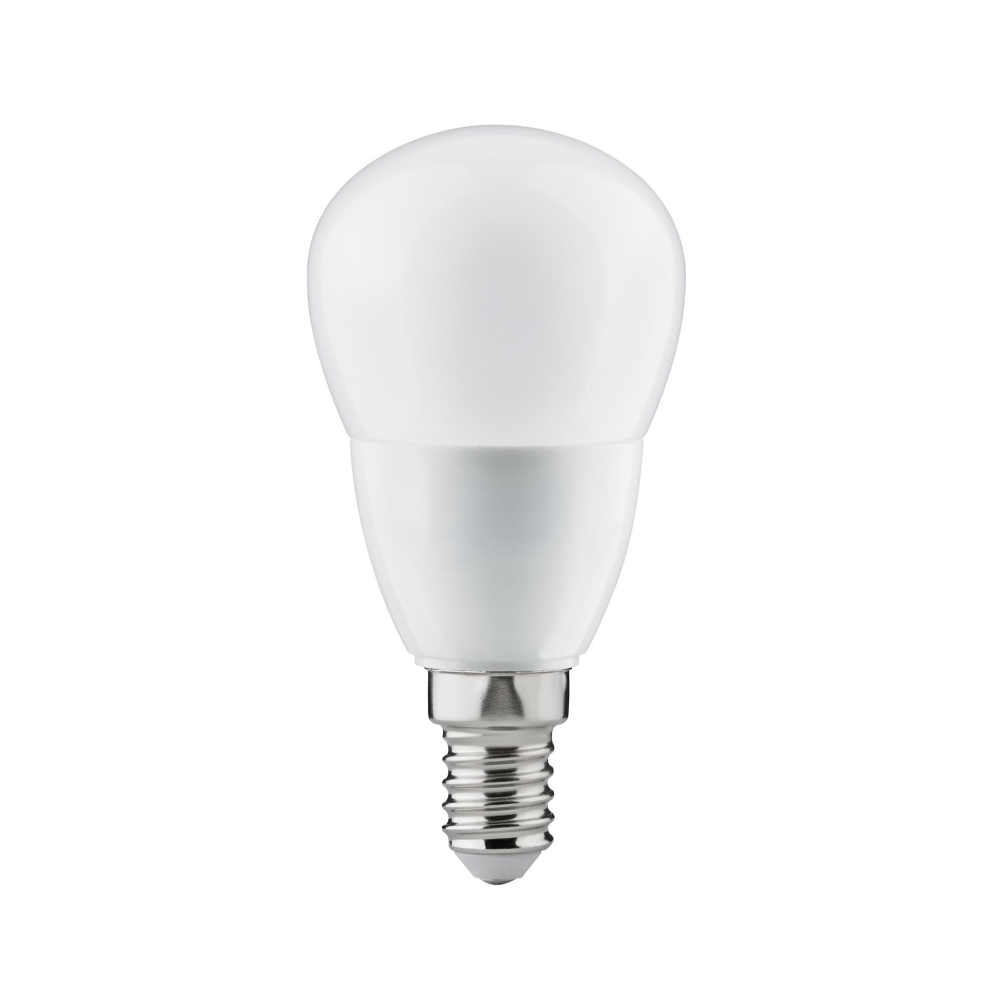 Лампа светодиодная Paulmann Premium Капля 6Вт 470лм 2700К E14 230В Опал Дим. 28467.