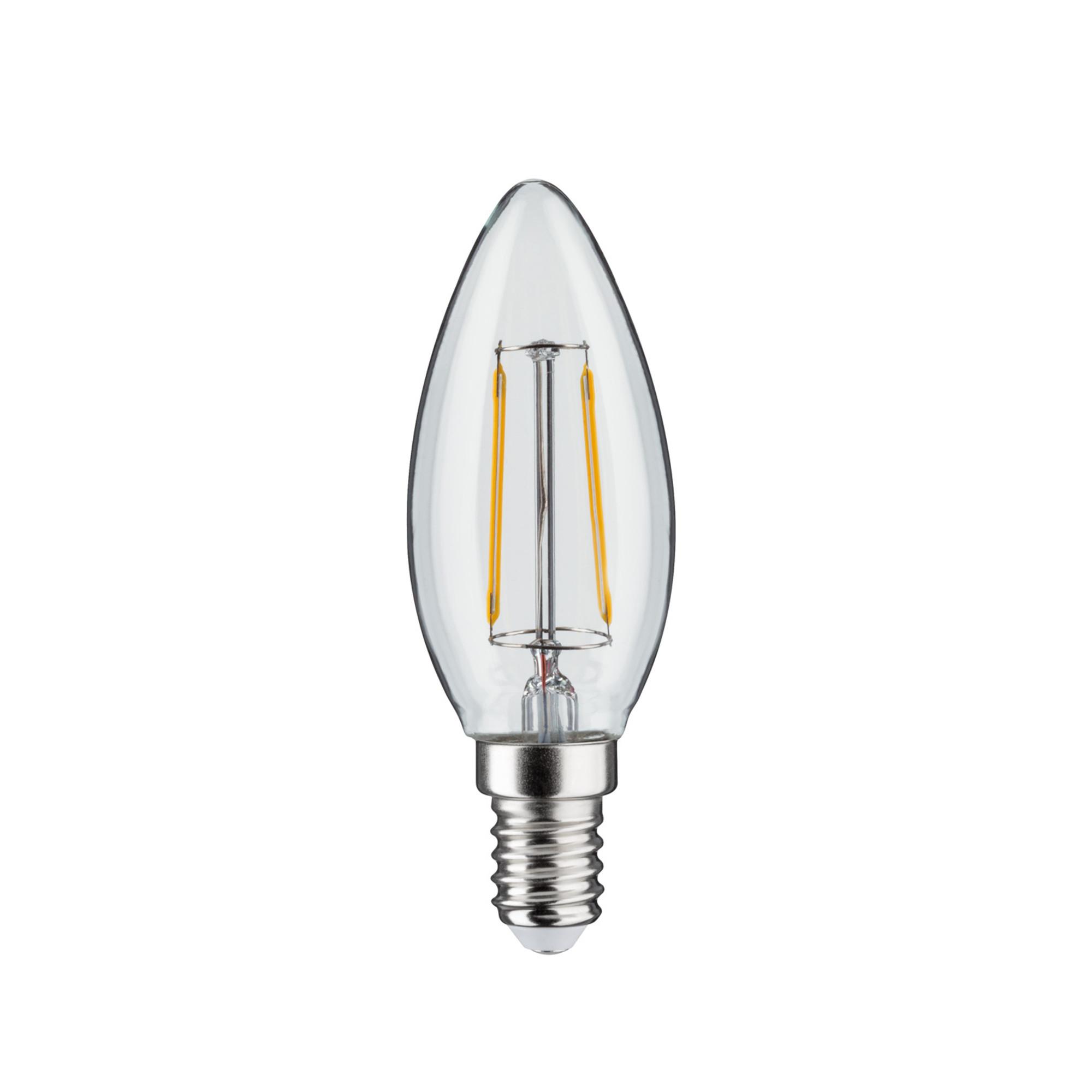 Лампа филаментная Paulmann Ретро Свеча 4.5Вт 470лм 2700К Е14 230В Прозрачный Регулируемая яркость 28494.