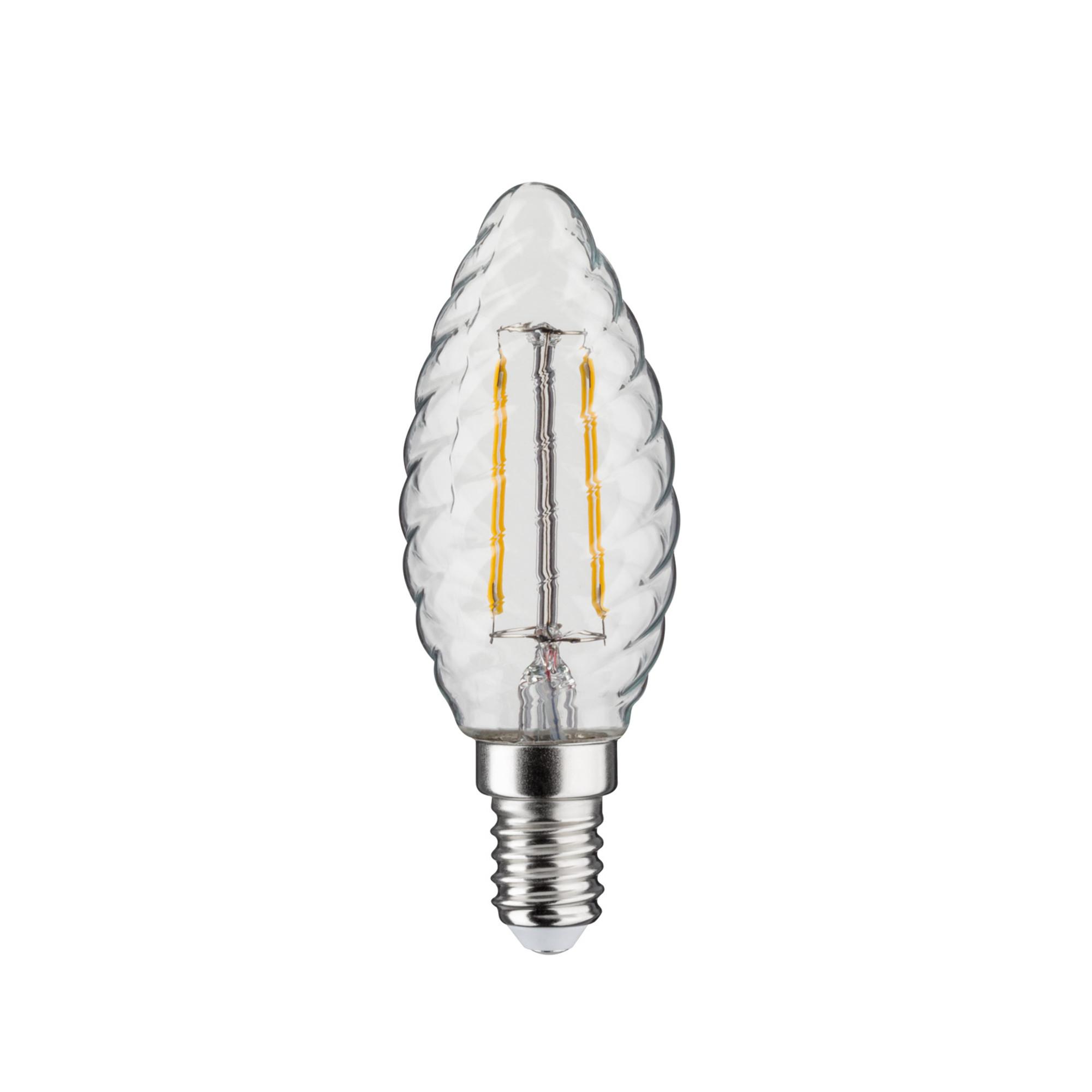 Лампа филаментная Paulmann Ретро Свеча витая 4.5Вт 470лм 2700К Е14 230В Прозрачный Регулируемая яркость 28499.