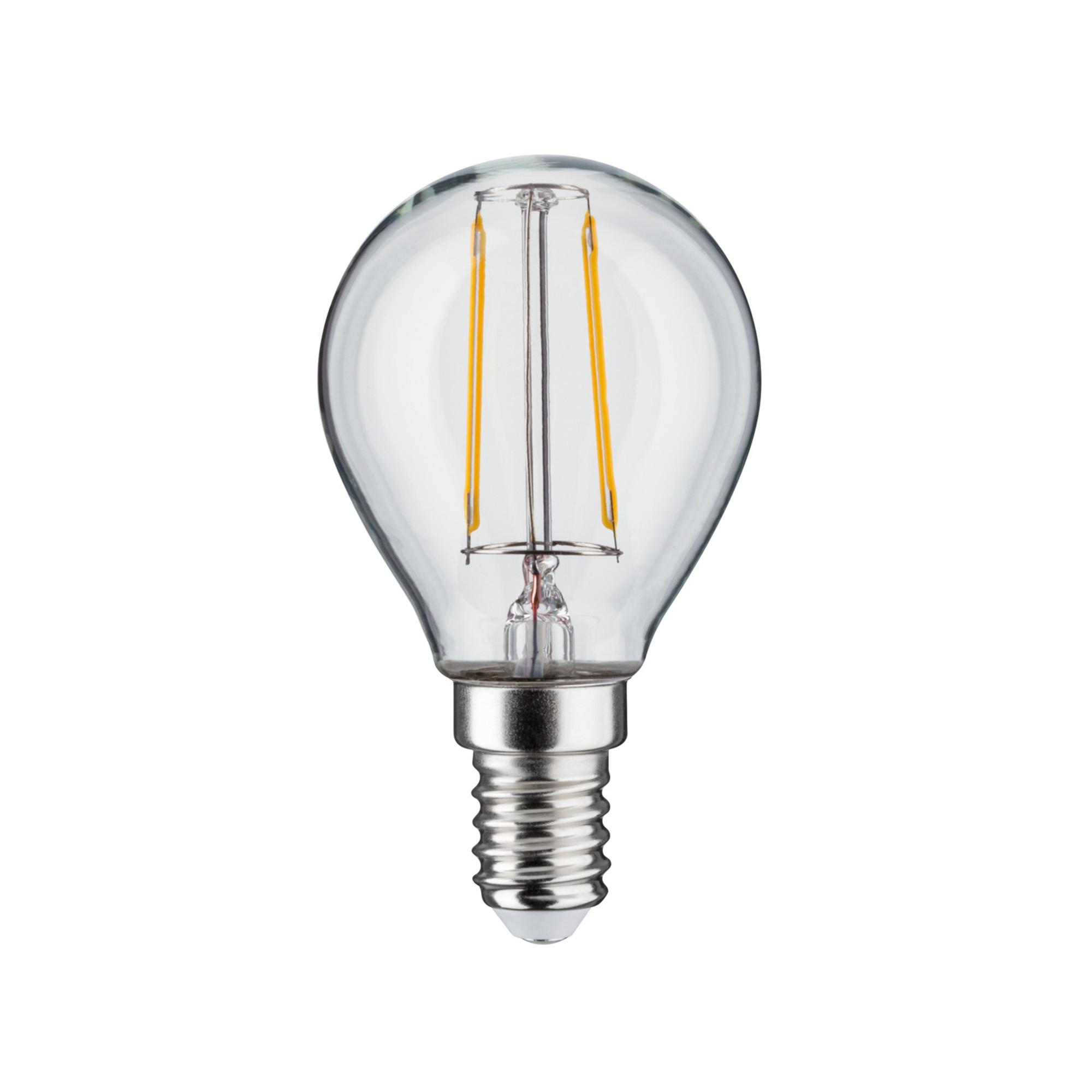 Лампа филаментная Paulmann Ретро Капля 4.5Вт 470лм 2700К Е14 230В Прозрачный Регулируемая яркость 28501.