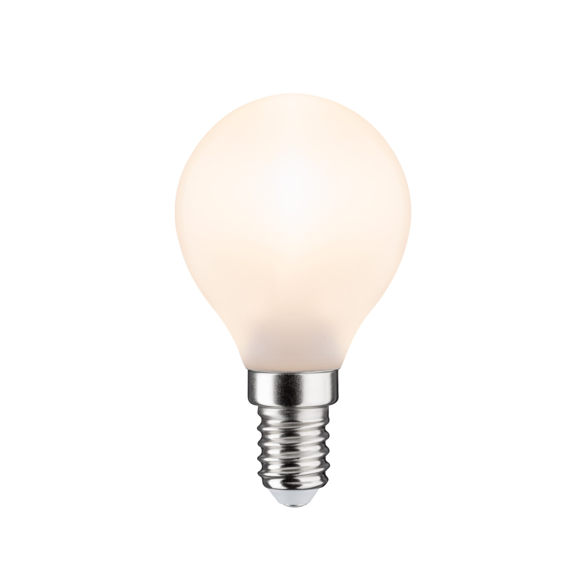 Лампа филаментная Paulmann Ретро Капля 4.5Вт 450лм 2700К Е14 230В Опал Регулируемая яркость 28502.