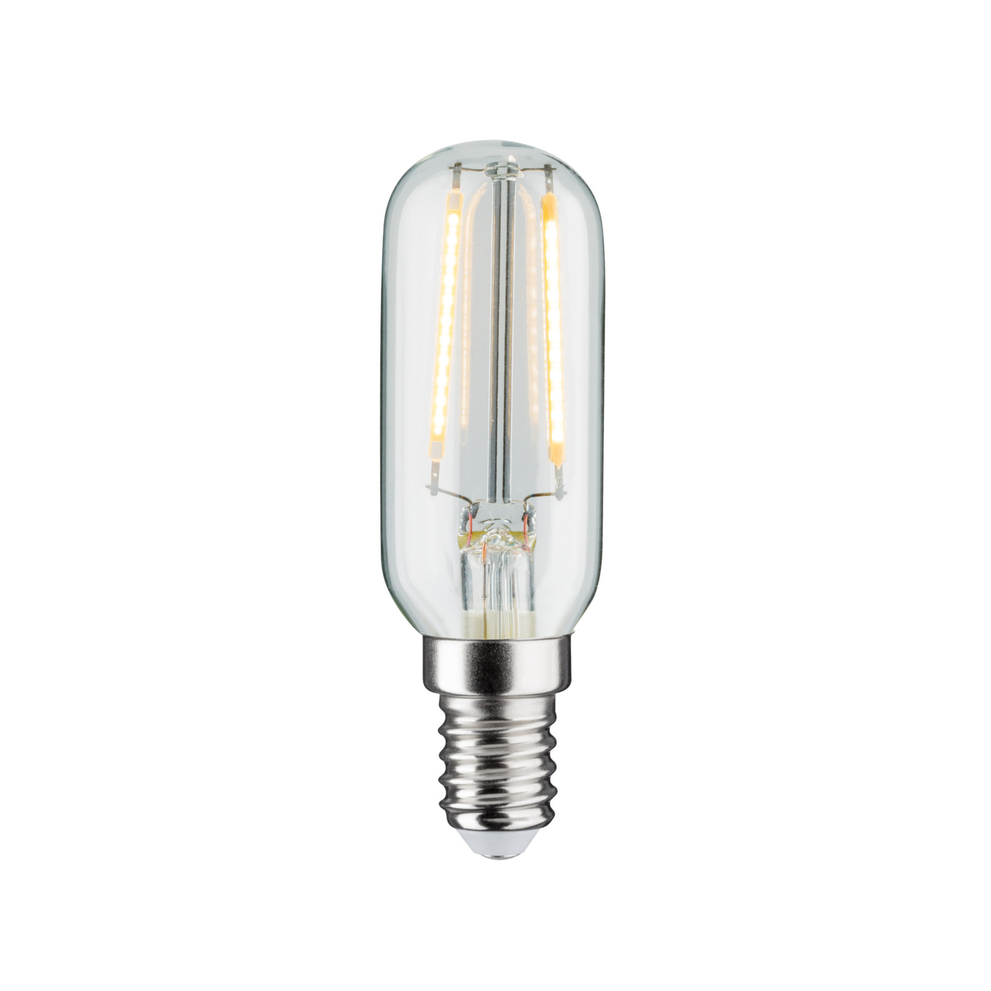 Лампа филаментная Paulmann Ретро Трубка 2.8Вт 250лм 2700К Е14 230В Прозрачный Регулируемая яркость 28505.