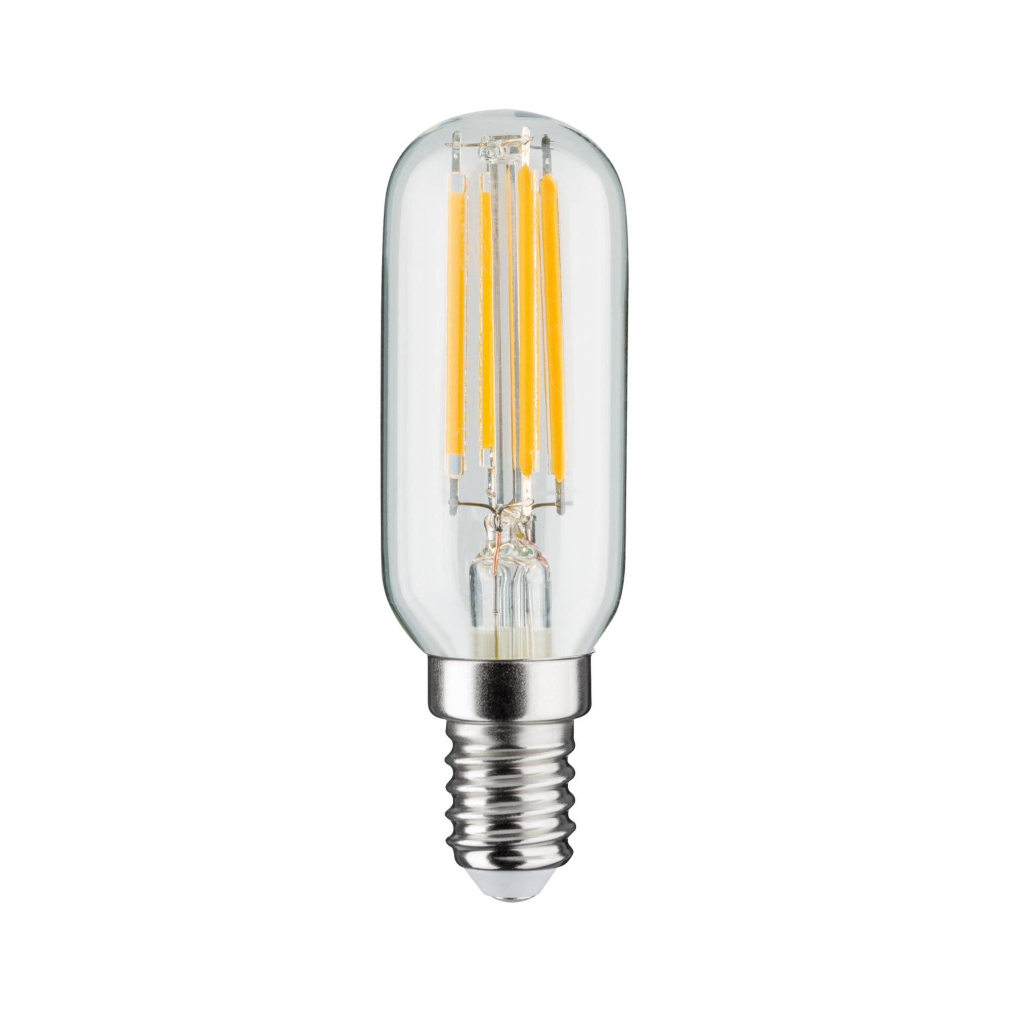 Лампа филаментная Paulmann Ретро Трубка 4.5Вт 470лм 2700К Е14 230В Прозрачный Регулируемая яркость 28506..