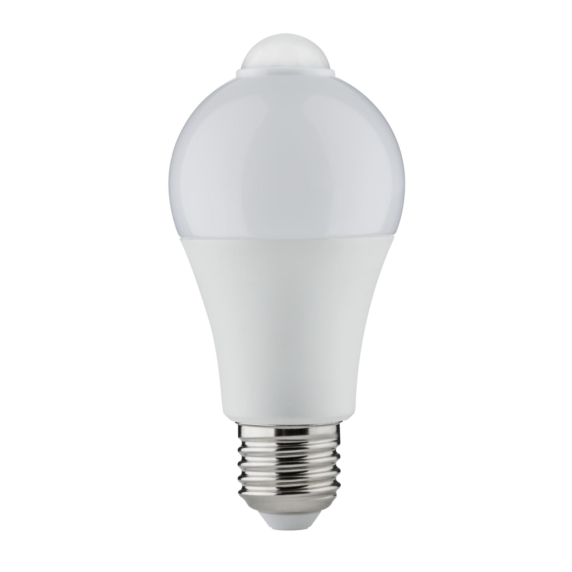 Лампа светодиодная Paulmann Общего назначения 6.5Вт 470лм 2700К E27 230В Опал ИК-датчик 28472.