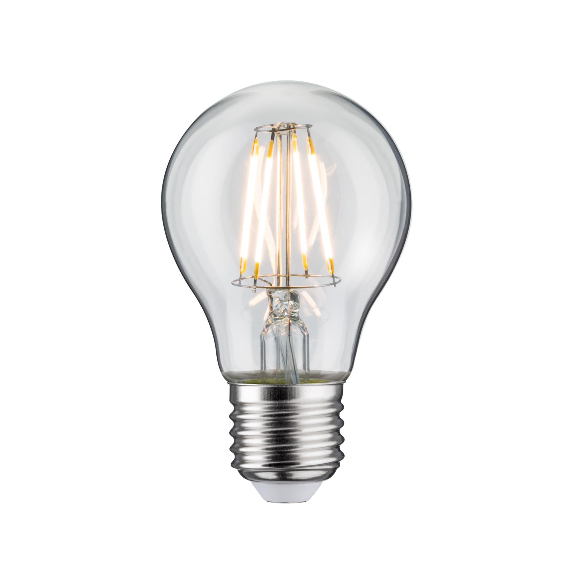 Лампа филаментная Paulmann Общего назначения 4Вт 470лм 2700К Е27 230В Прозрачный Набор 2 шт. 28475.