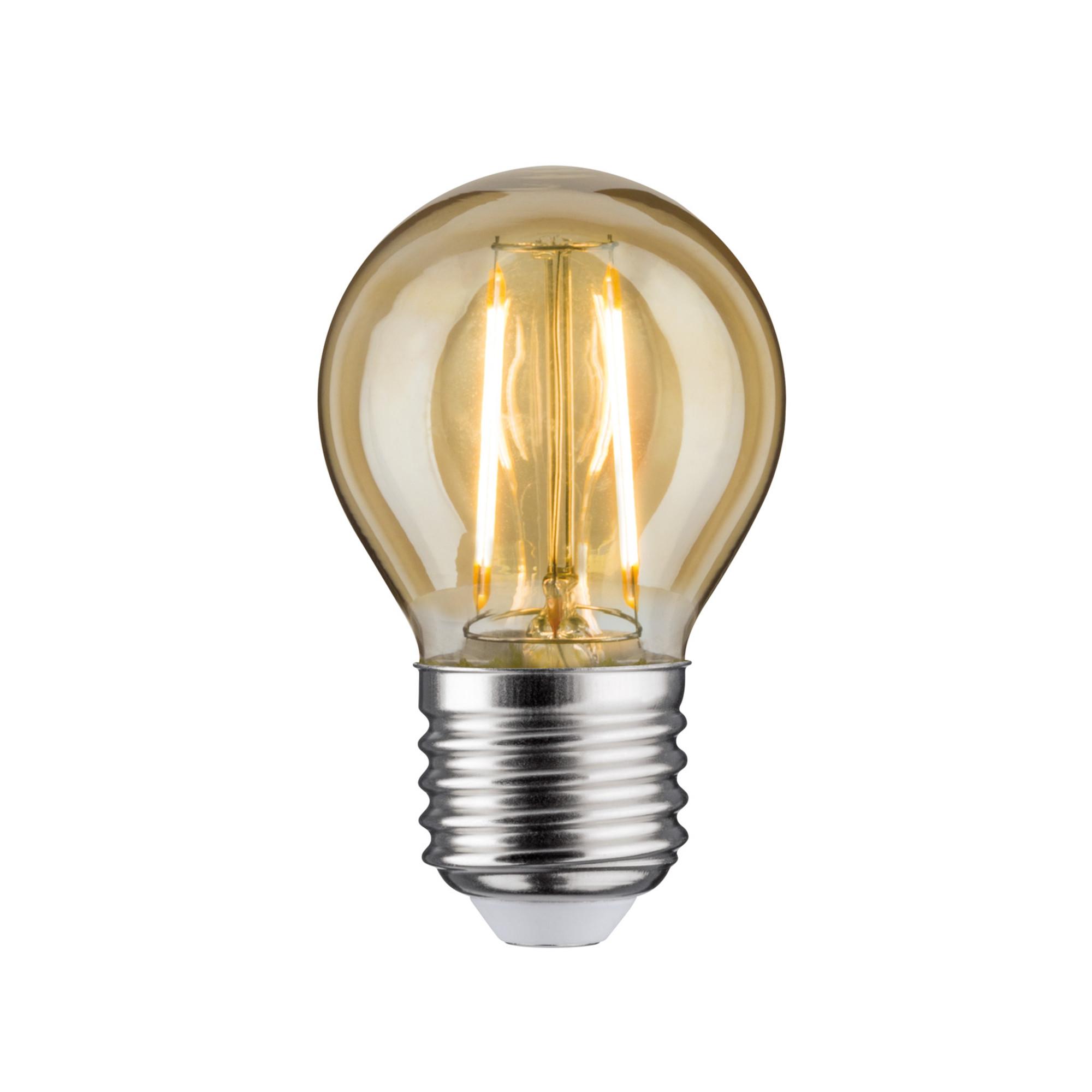 Лампа филаментная Paulmann Retro Капля 4.5Вт 400лм 2500К Е27 230В Золото С регулируемой яркостью 28479.