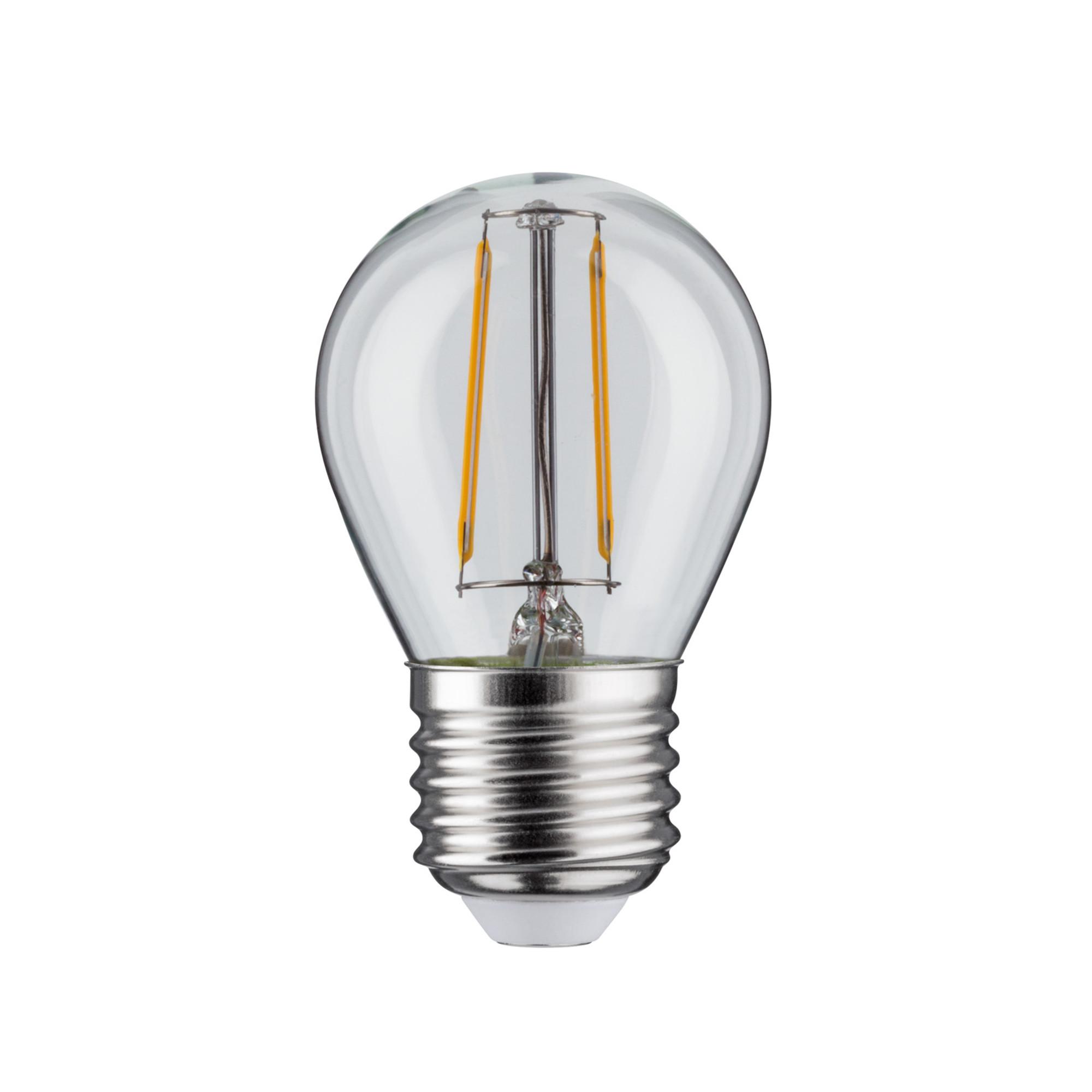 Лампа филаментная Paulmann Ретро Капля 4.5Вт 470лм 2700К Е27 230В Прозрачный С регулируемой яркостью 28480.