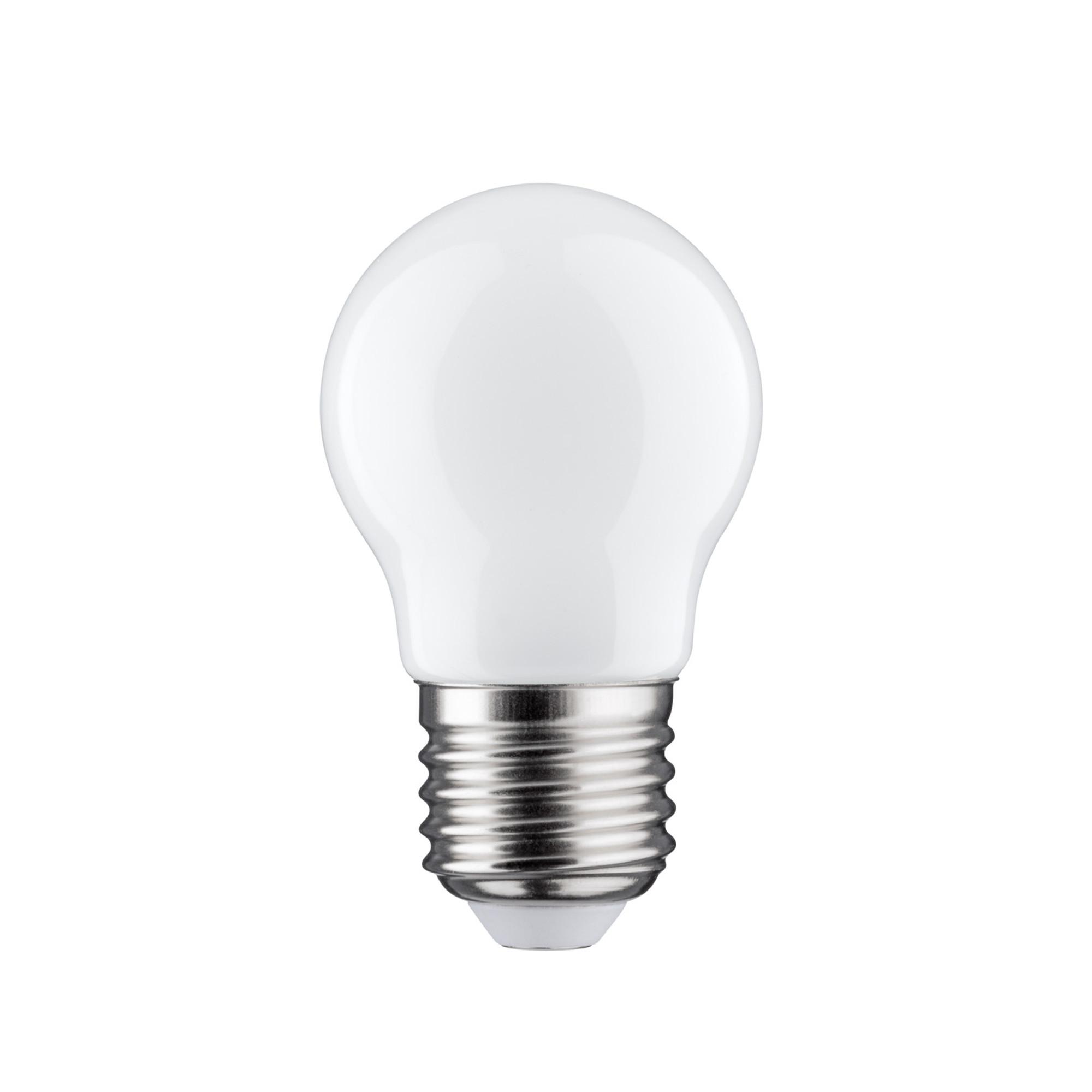 Лампа филаментная Paulmann Ретро Капля 4.5Вт 400лм 2700К Е27 230В Опал С регулируемой яркостью 28481.