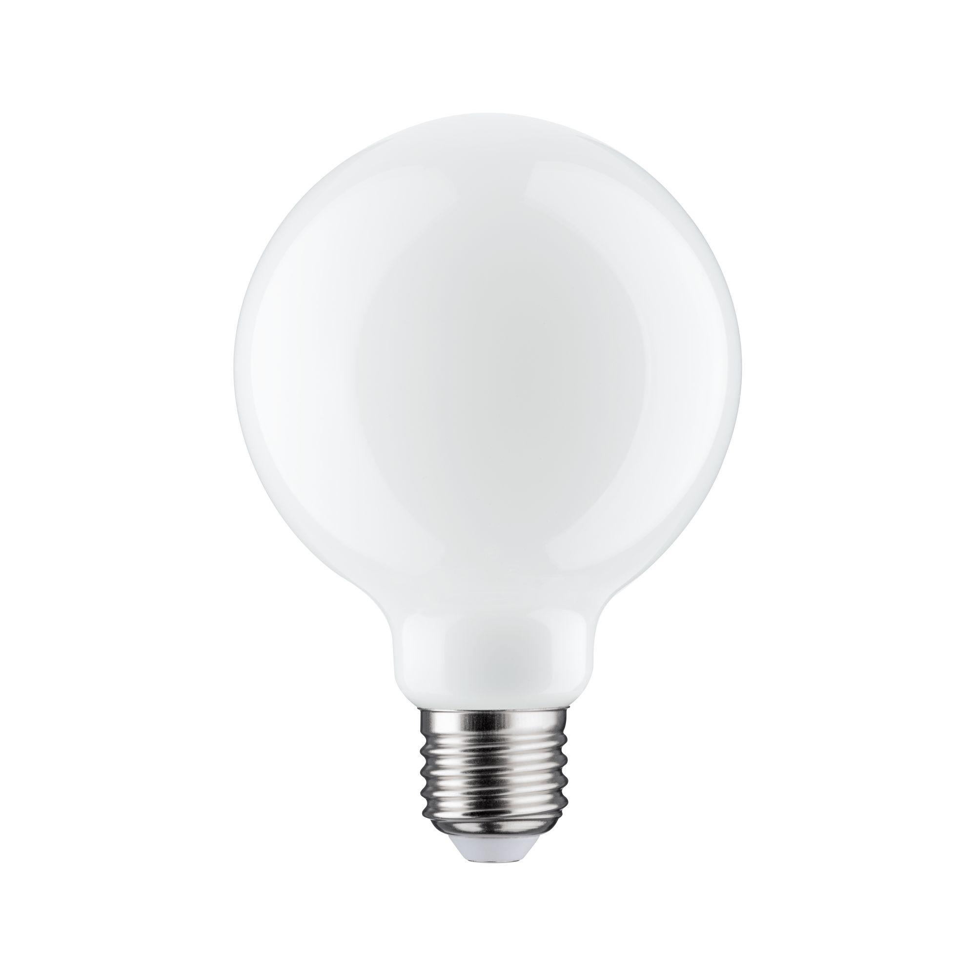 Лампа филаментная Paulmann Шар G95 6Вт 806лм 2700К Е27 230В Опал Регулируемая яркость 28487.