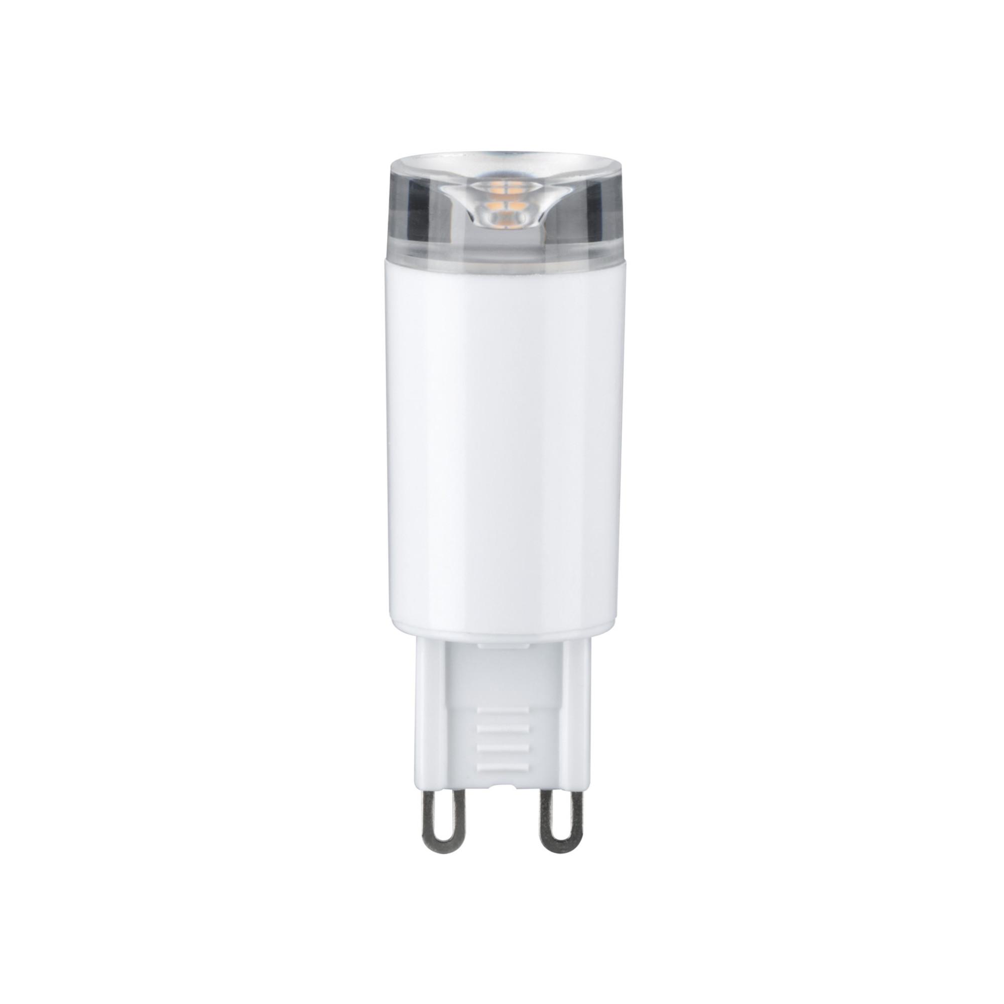 Лампа светодиодная Paulmann Штифтовый цоколь 2.4Вт 210лм 2700К G9 230В Прозрачный 28509.