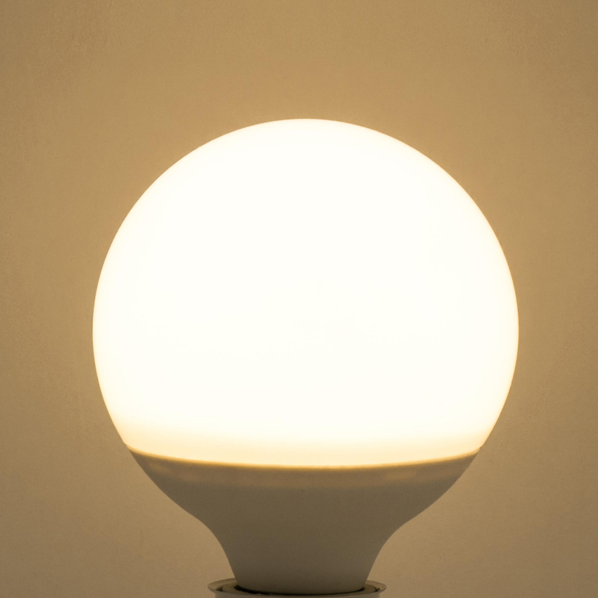 Лампа светодиодная Lexman E27 12 Вт 1100 Лм свет тёплый