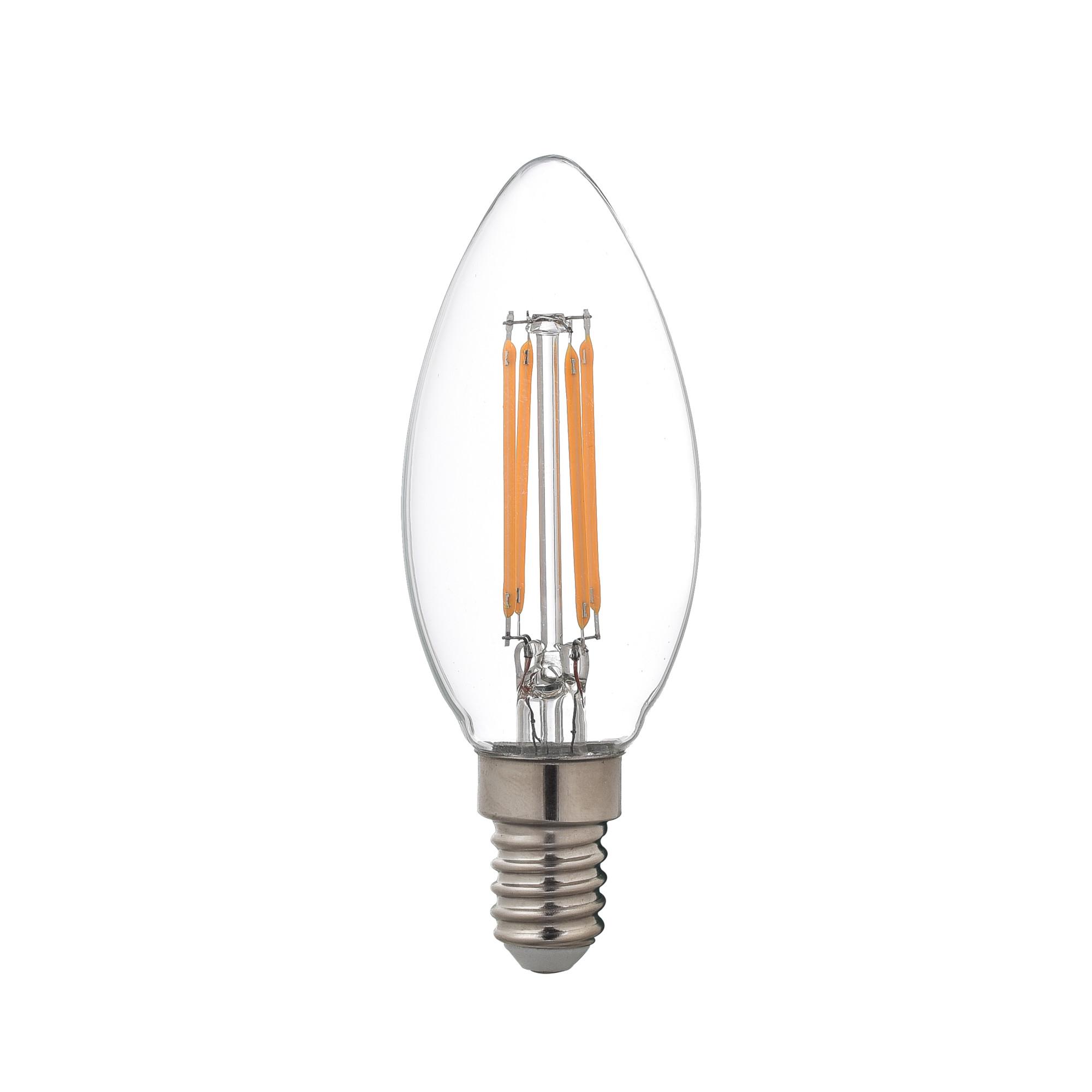 Лампа светодиодная Lexman E14 45 Вт 470 Лм 2700 K свет тёплый белый