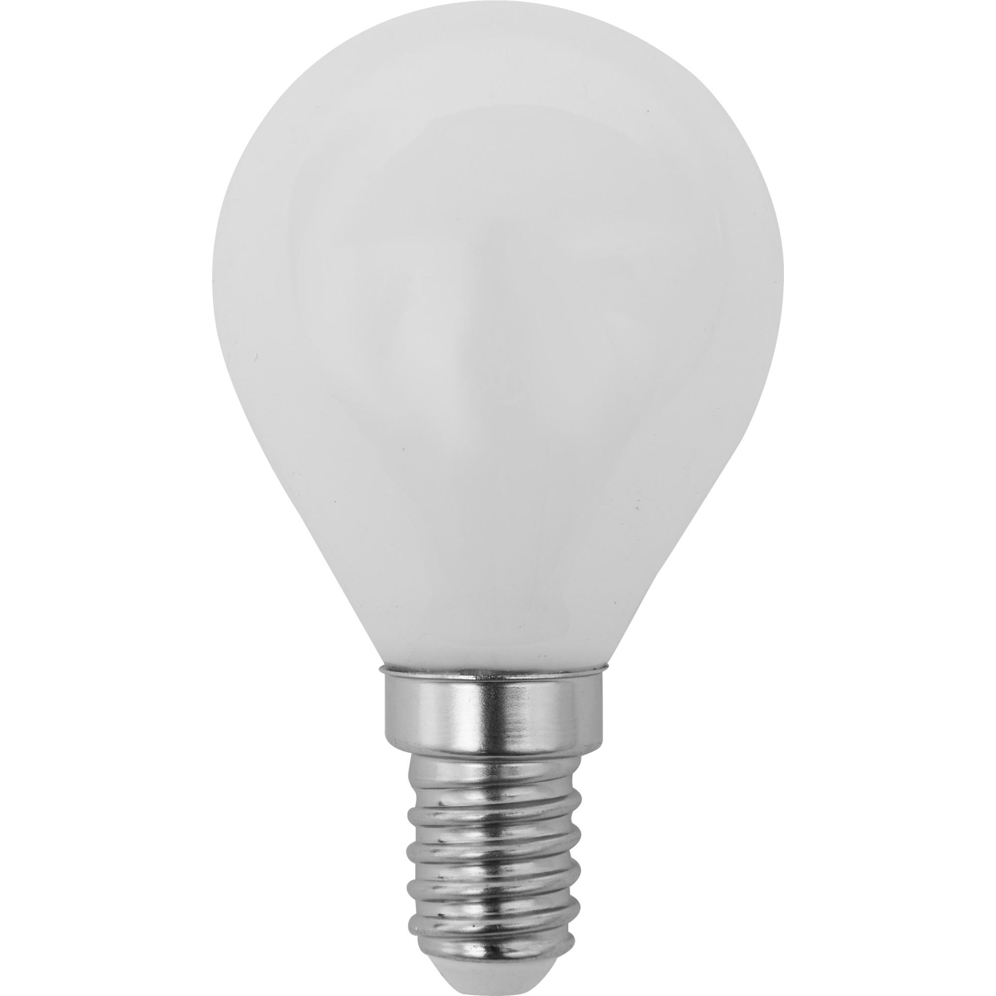 Лампа светодиодная Lexman E14 45 Вт 470 Лм 2700 K свет тёплый белый матовая колба