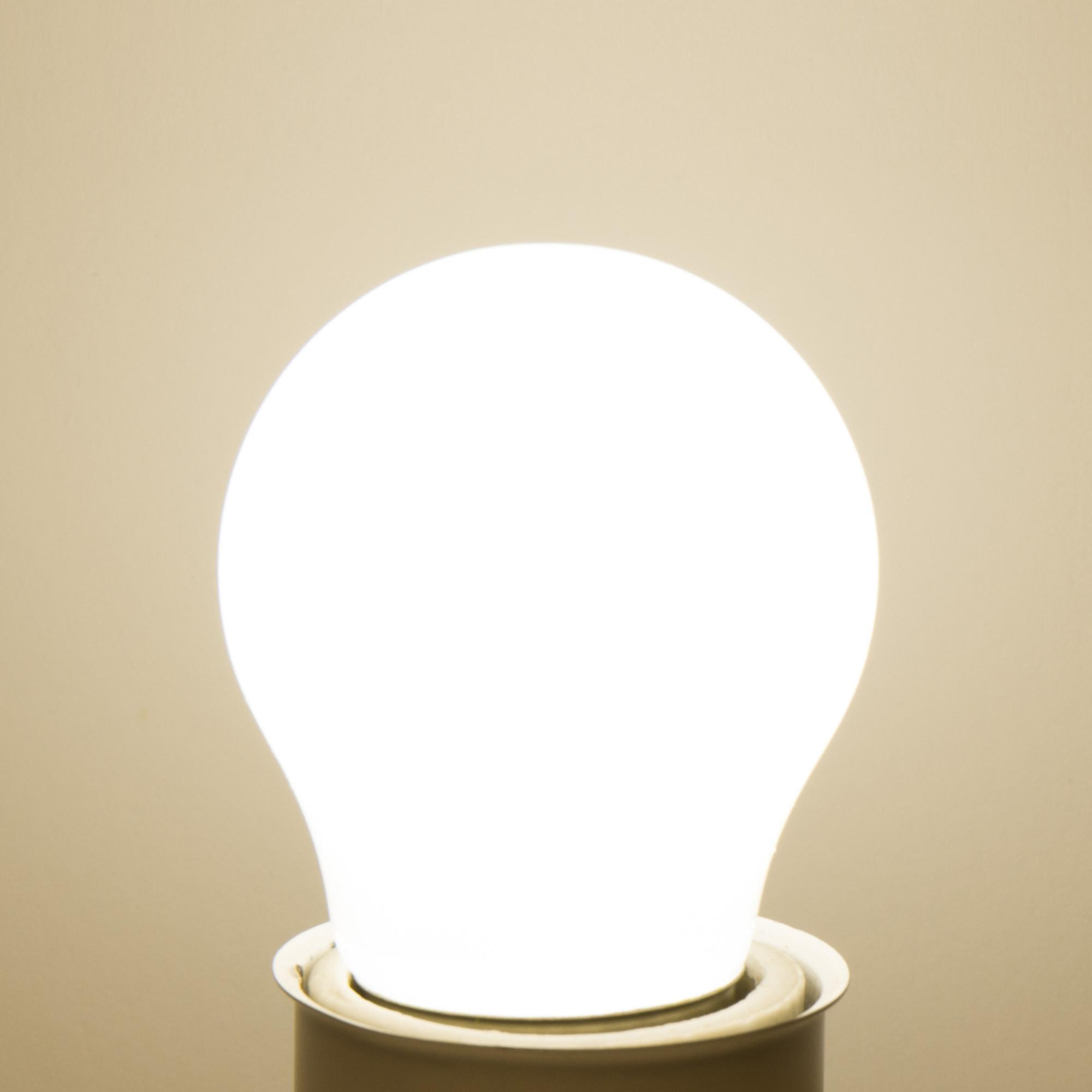 Лампа светодиодная Lexman E27 45 Вт 470 Лм 4000 K свет нейтральный матовая колба