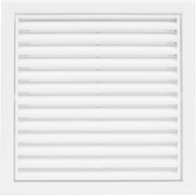 Решетка вентиляционная Вентс МВ 120 с, 186x186 мм, цвет белый