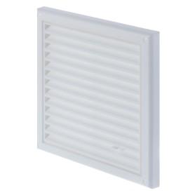 Решетка вентиляционная регулируемая Вентс МВ 120 Рс, 186x186 мм, цвет белый