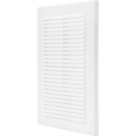 Решетка вентиляционная Вентс МВ 125 с, 182x251 мм, цвет белый