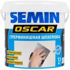 Шпаклёвка финишная влагостойкая Semin Oscar, 1,5 кг