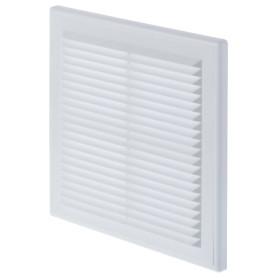 Решетка вентиляционная Вентс МВ 150 с, 204x204 мм, цвет белый