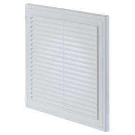 Решетка вентиляционная Вентс МВ 250/150 Вс, 250x250 мм, цвет белый