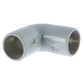 Угол для труб сборный 90 градусов Экопласт D20 мм, 5 шт.
