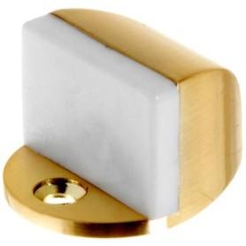 Стопор дверной Palladium 01, ЦАМ, цвет матовое золото
