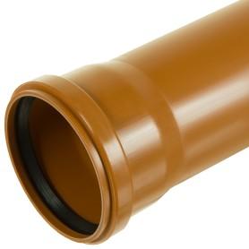 Труба канализационная наружная SN4 110х3000 мм
