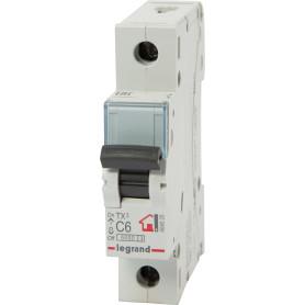Выключатель автоматический Legrand 1 полюс 6 А