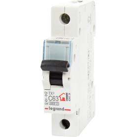 Выключатель автоматический Legrand 1 полюс 63 А