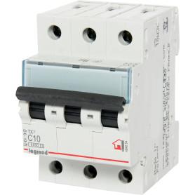 Выключатель автоматический Legrand 3 полюса 10 А