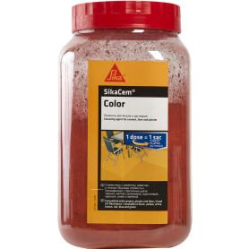 Краситель для бетона и смесей Sika SikaCim Color, 0.8 кг, цвет красный