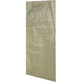 Мешок для мусора 55x95 см ткань/пропилен зеленый