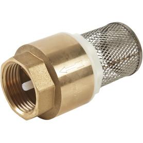 Клапан обратного действия с фильтром цельный 1 дюйм