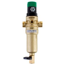 """Фильтр механической очистки Honeywell для горячей воды с клапаном пониженного давления, 1/2"""", 100 мкм"""