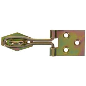 Навеска Gah Alberts с проушиной для навесного замка с проволочной петлей 26x80 мм