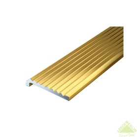 Уголок 23x6.3x2x1000 мм, цвет золото