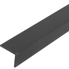 Уголок ПВХ 25x20x2x1000 мм, цвет черный