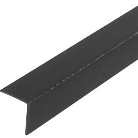 Уголок ПВХ 15x15x1.2x2000 мм, цвет черный
