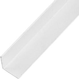 Уголок ПВХ 15x15x1.2x1000 мм, цвет белый