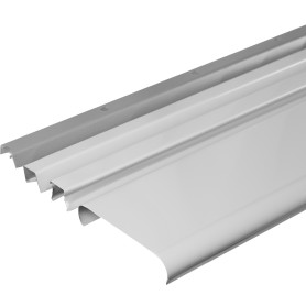 Комплект потолка для ванной 1.72х1.7 м цвет белый глянцевый