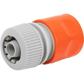 Коннектор для шланга быстросъёмный с автостопом Gardena Classic, 1/2 дюйма.