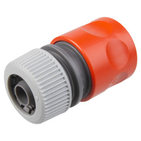 Коннектор для шланга быстросъёмный Gardena Classic, 1/2 дюйма.