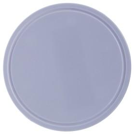 Крышка к круглой распределительной коробке, пластик, цвет белый