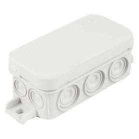 Коробка распределительная Mini 25, 80х43х35 мм цвет серый